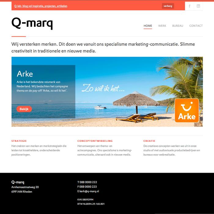 Q-marq website 1