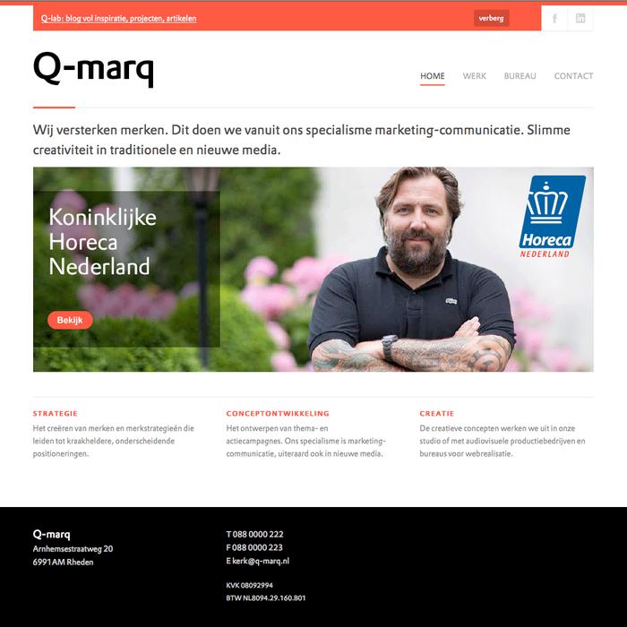 Q-marq website 2