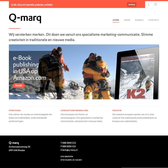 Q-marq website 3