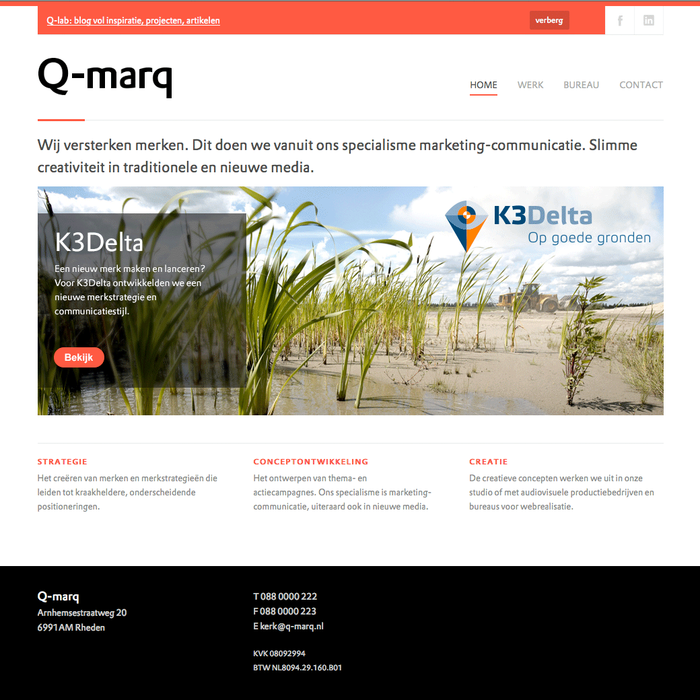Q-marq website 4