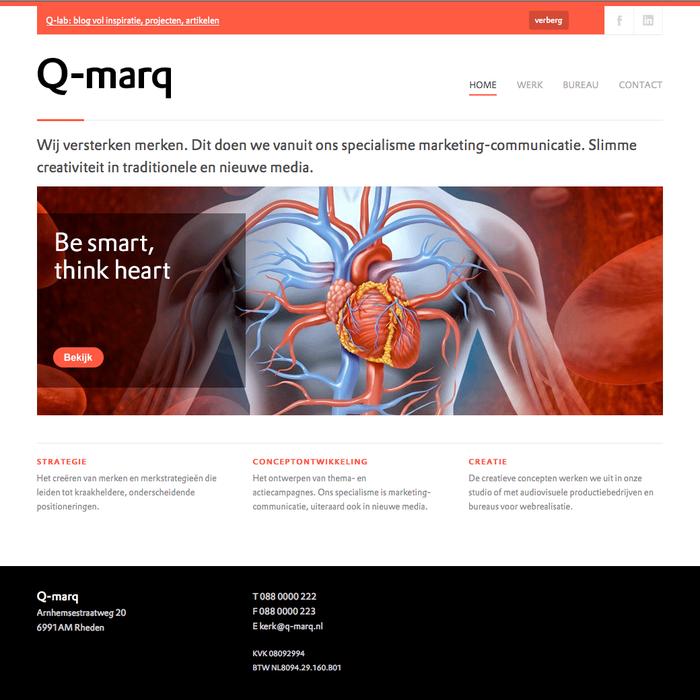 Q-marq website 5