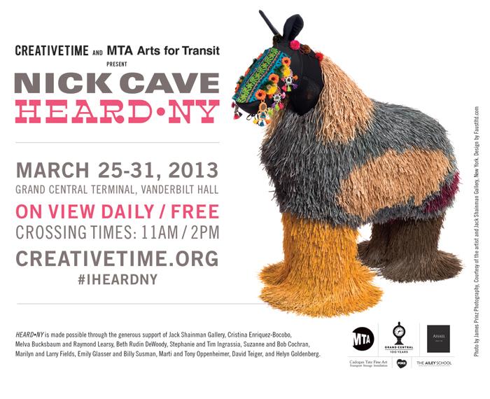 Nick Cave – HEARD•NY 1