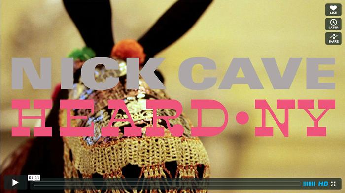 Nick Cave – HEARD•NY 2
