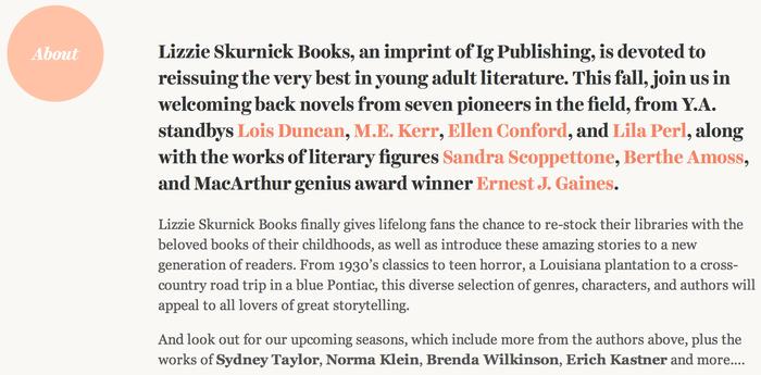 Lizzie Skurnick Books 1