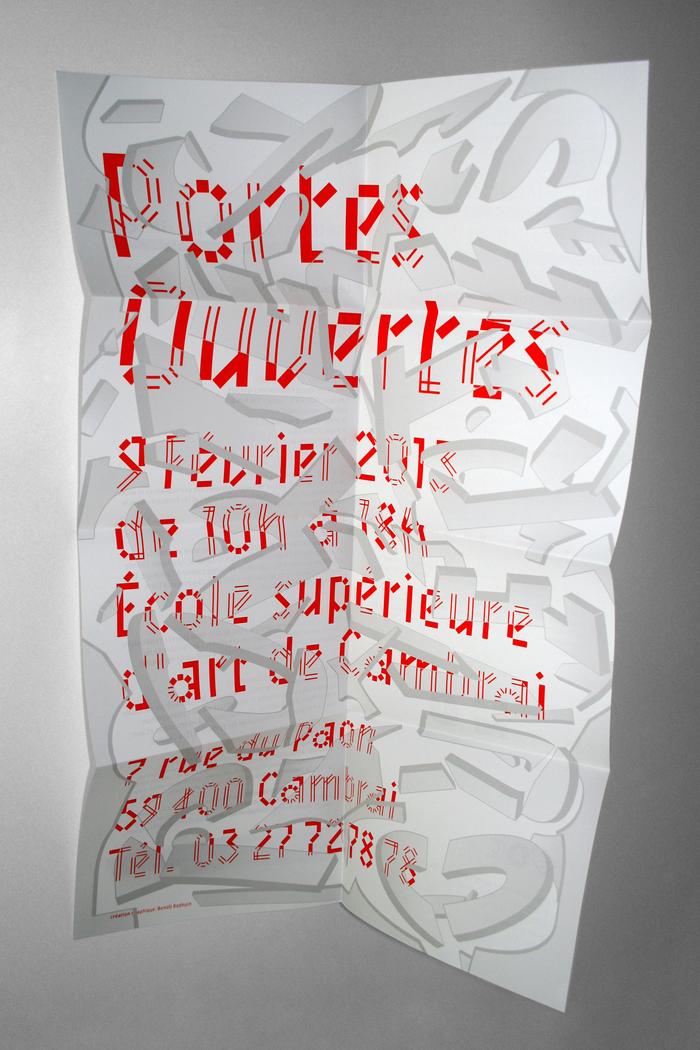 Poster facing