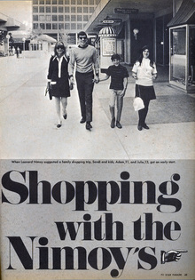 """Shopping with the Nimoy's"""