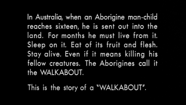 Walkabout movie titles 1
