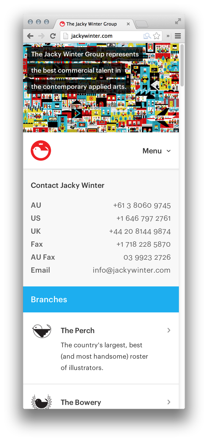 The Jacky Winter Group 1