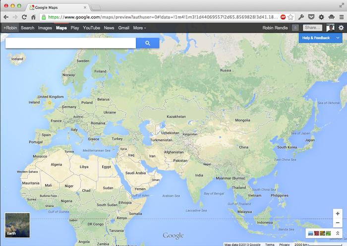 Google Maps (2013 Update) 1