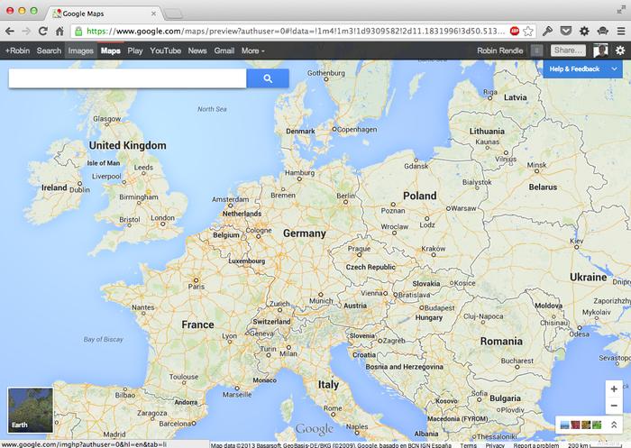 Google Maps (2013 Update) 2