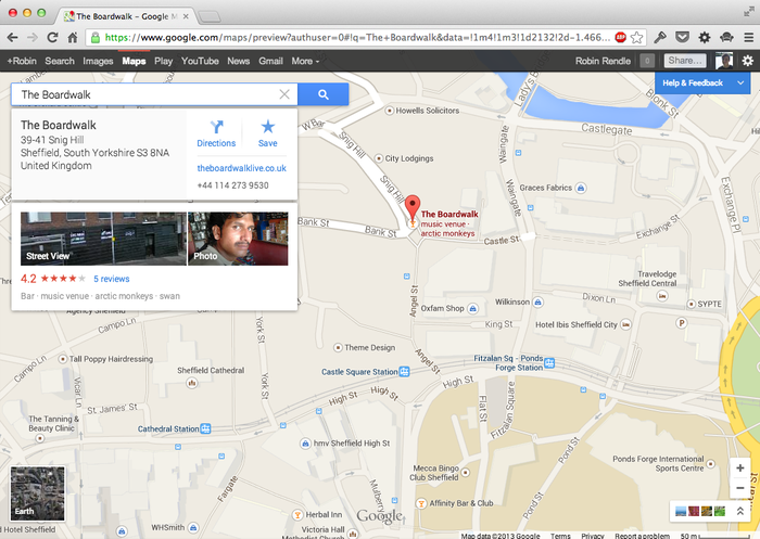 Google Maps (2013 Update) 3