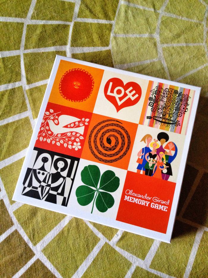 Alexander Girard Memory Game (AMMO Edition) 1