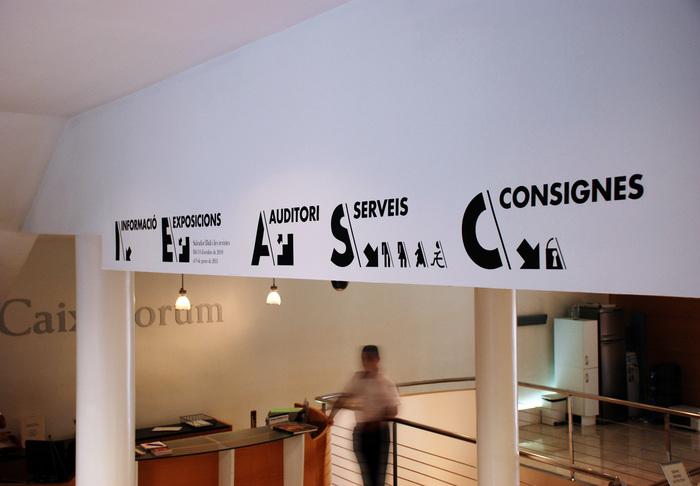 CaixaForum Signage 8