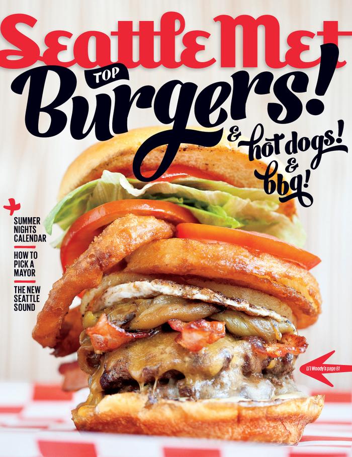Seattle Met July 2013 Cover, Top Burgers