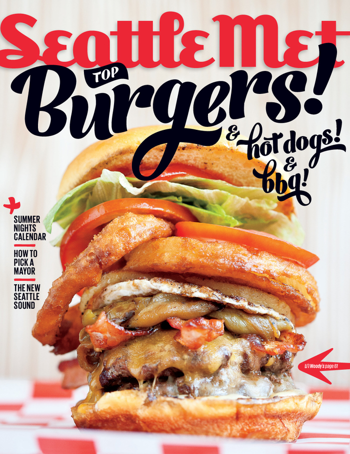 Seattle Met July 2013 Cover, Top Burgers