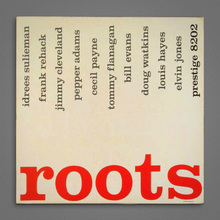 <span> <span> The Prestige All Stars</span> – </span> ‎ <cite>Roots</cite> album art