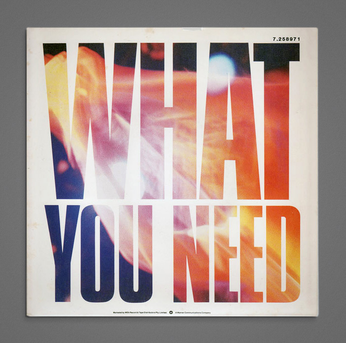 """INXS – """"What You Need"""" single cover 1"""