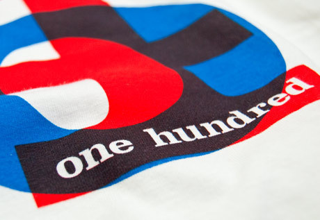 """""""One Hundred"""" Tee 4"""