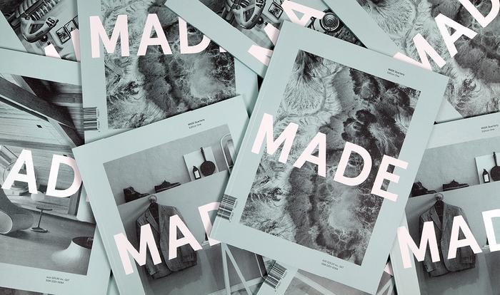 MADE Quarterly, Edition One 1