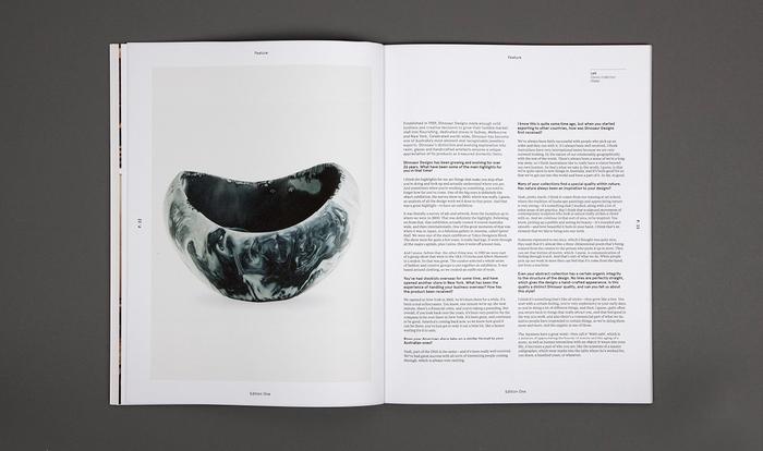 MADE Quarterly, Edition One 6
