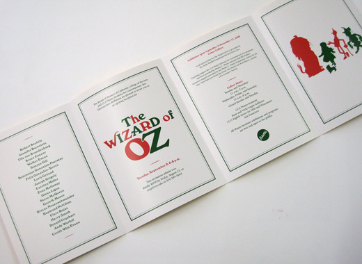 The Wizard of Oz exhibition, CCA Wattis 14