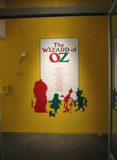 The Wizard of Oz exhibition, CCA Wattis 11