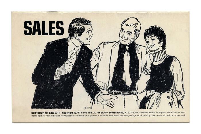 """Sales"" (No. 547) ft.  stretto. Illustration by Tom Sawyer."