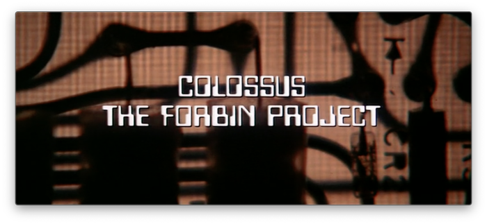 Colossus: The Forbin Project (1970) titles 1