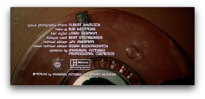Colossus: The Forbin Project (1970) titles 5
