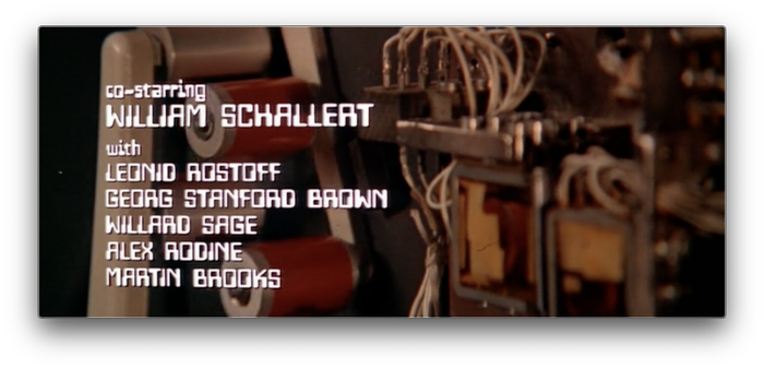 Colossus: The Forbin Project (1970) titles 6