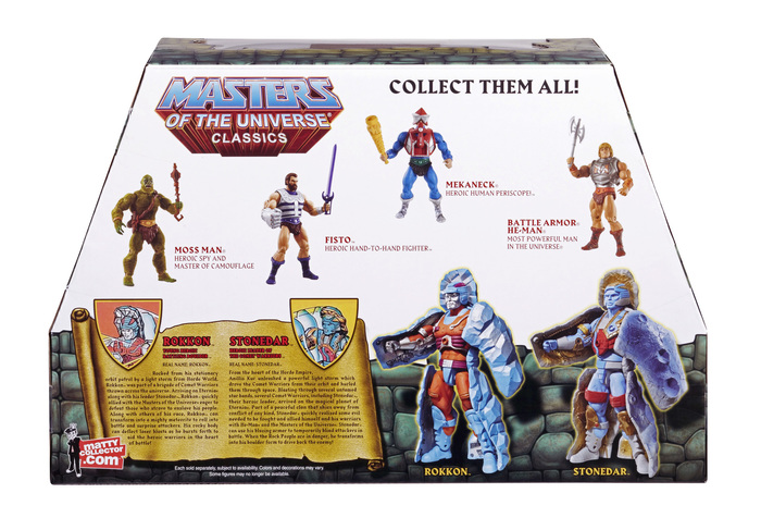Masters of the Universe Classics action figures 8