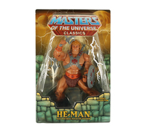 <cite>Masters of the Universe</cite> Classics action figures