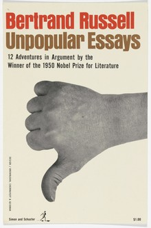 <cite>Unpopular Essays</cite> by Bertrand Russell (Simon &amp; Schuster)