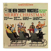The New Christy Minstrels – <cite>Merry Christmas!</cite> album art