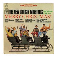 The New Christy Minstrels – <cite>Merry Christmas!</cite> album art
