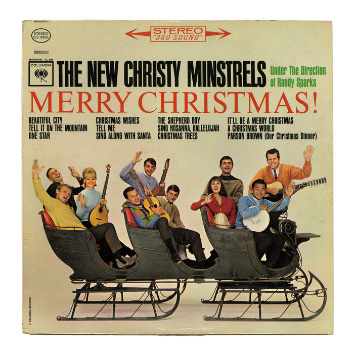 The New Christy Minstrels – Merry Christmas! album art