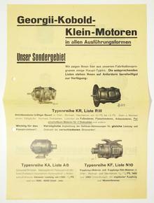 Georgii-Kobold-Klein-Motoren leaflet