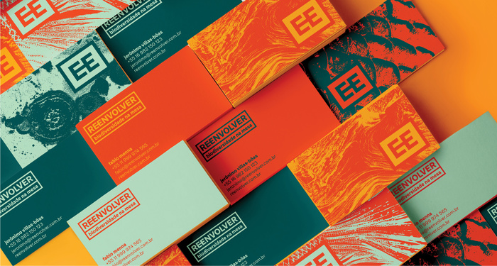 Reenvolver identity and packaging 1