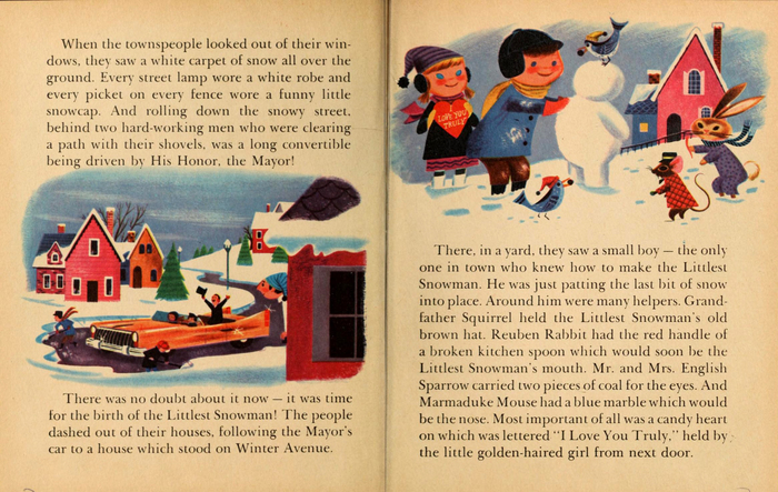 Spread from the book's interior, with text set in .