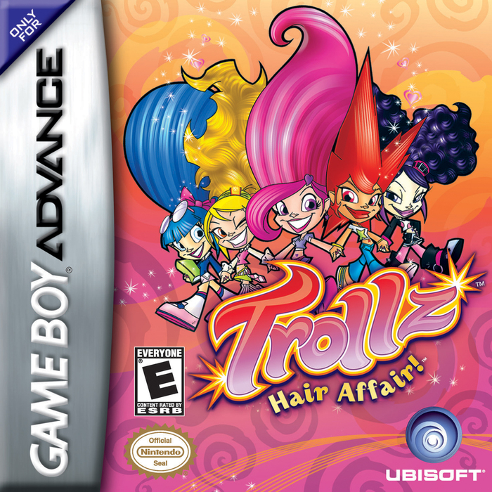 Cover of the Game Boy video game