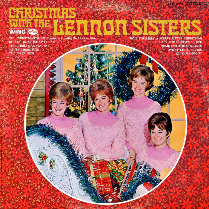Christmas with The Lennon Sisters (Mercury Wing, 1970) album art