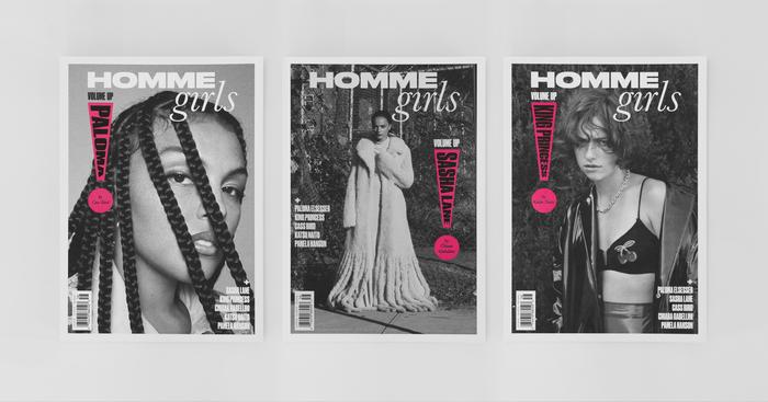 "Hommegirls magazine, Fall 2020 ""Volume Up"" 2"