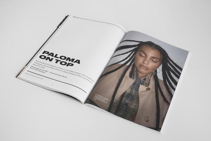 "Hommegirls magazine, Fall 2020 ""Volume Up"" 6"