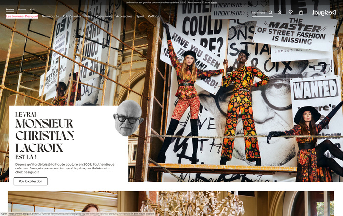 """The Couture News, """"Where is the real Monsieur Christian Lacroix?"""" 4"""
