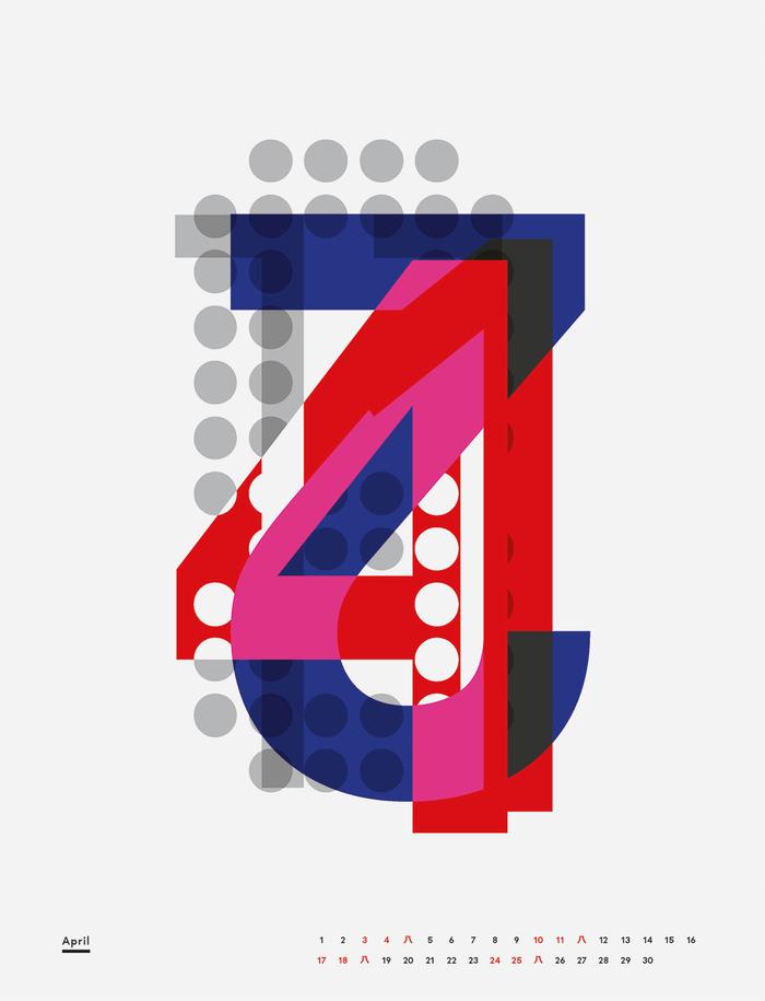 Eight Days a Week, Thirteen Months a Year calendar 6