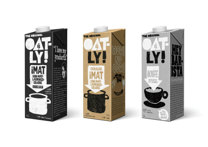 Oatly packaging, 2015– 8