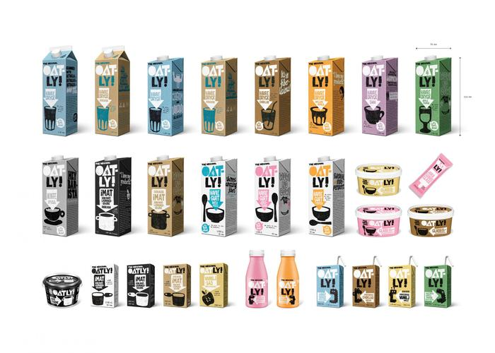 Oatly packaging, 2015– 9