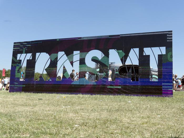 TRNSMT sign, 2018