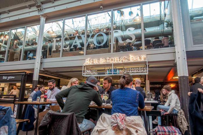 Foodhallen Amsterdam.