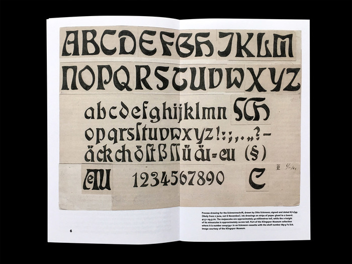 Louis Hoell and the making of the Eckmannschrift, Poem Pamphlet No. 4 3